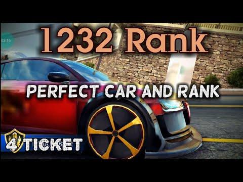 Asphalt 8 / MP / audi R8 Se. / 1232 Rank / 4 Race / crazy rank