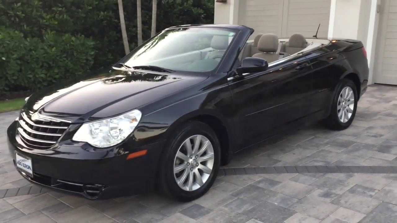 2010 Chrysler Sebring Touring Convertible Review And Test Drive By Bill Auto Europa Naples