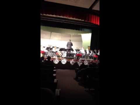 Gunnison middle school band dec 2013