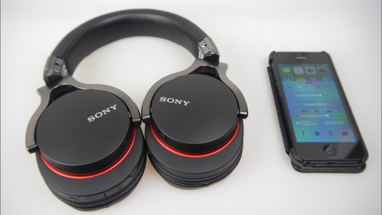 Sony MDR 1RBT Bluetooth Wireless Stereo Headphones - Quick Overview