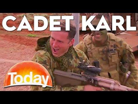 Karl Trains With The Australian Army | TODAY Show Australia