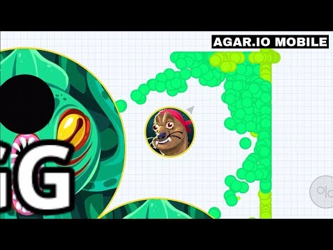 DESTROYING FIRE CLAN! (Agar.io Mobile Gameplay!) thumbnail