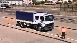 Maniobra Camion C1 C Aparcamiento en Linea en Centro de Examenes de la DGT de Madrid en Mostoles