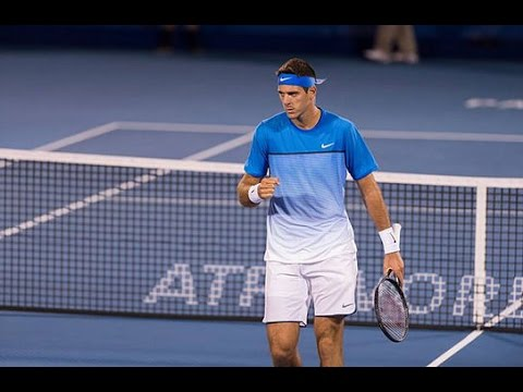 Juan Martín Del Potro vs. John Patrick Smith | R2 Delray Beach 2016 [Highlights]