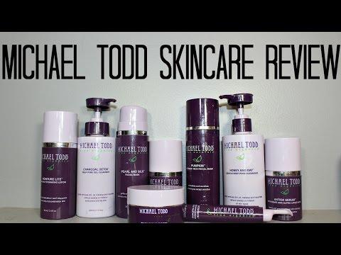 Michael Todd Oily Acne Prone Skincare Routine| samantha jane