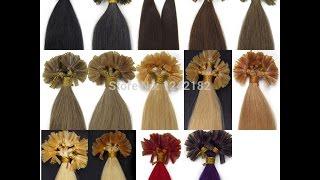 Волосы на кератиновых капсулах из Китая, распаковка, обзор. Посылка AliExpress № 90