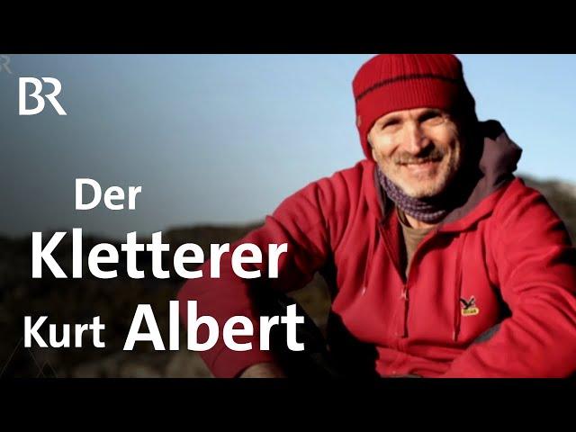 Erinnerungen an Kurt Albert: Der Erfinder des Rotpunkt-Kletterns | Bergauf-Bergab | BR
