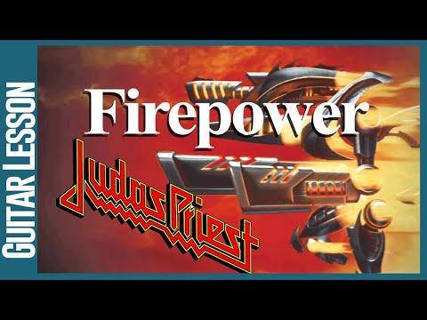 Firepower By Judas Priest - Guitar Lesson