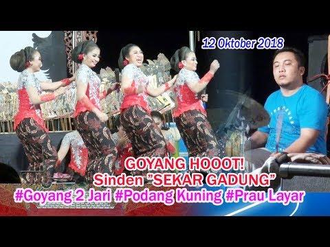 """GOYANG HOOOT!  Sinden """"SEKAR GADUNG""""  12 Oktober 2018"""