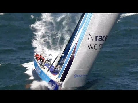 """World on Water"" Nov 30.14 Global Boating News Show.  (Team Vestas crashed on reef, MC38's. more)"