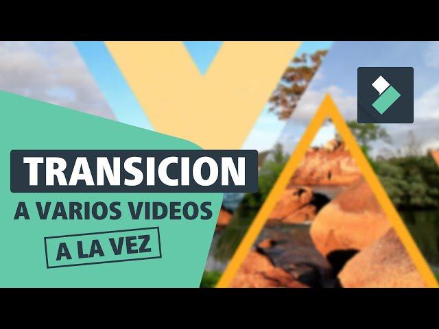 Cómo añadir TRANSICIONES A LA VEZ 🎉 🔥 o ALEATORIAS en FILMORA | Curso Filmora