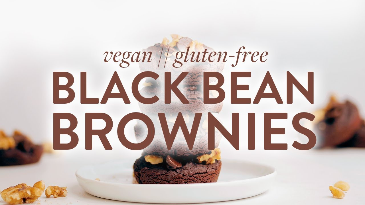 Vegan Gluten Free Black Bean Brownies Minimalist Baker Recipes Youtube