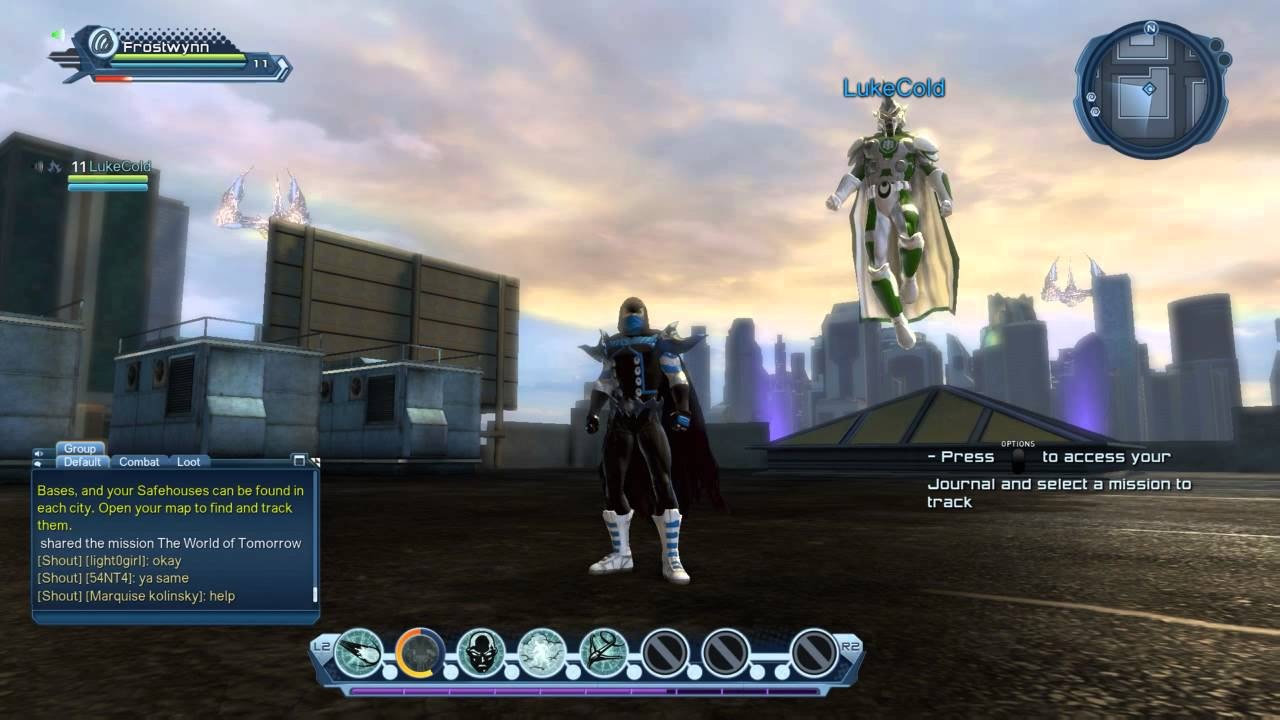 DC Universe Online (Direct from PS4 via Share function) - YouTube