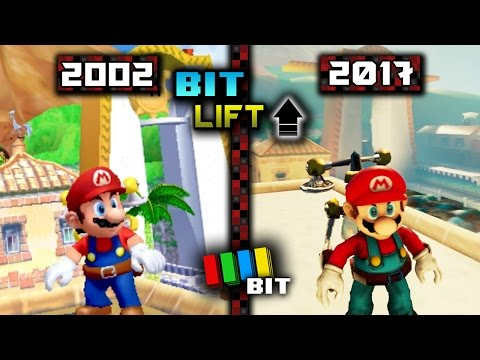 Super Mario Sunshine (2002) Vs. (2017) Graphics | Bit Lift [TetraBitGaming]