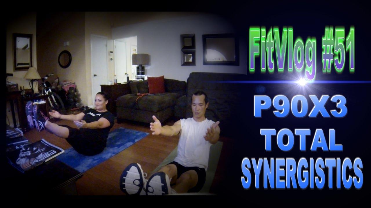 FitVlog#51 | P90X3 Total Synergistics