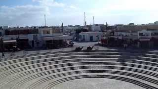 El Djem (El Jem) in Tunisia HD Video view from the Roman ampitheatre