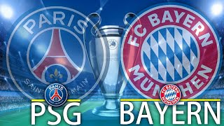 🔴 PSG - BAYERN DIRECT LIVE // CHAMPIONS LEAGUE UCL // Paris Saint Germain vs Bayern Munchen
