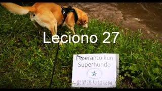 Lernu Esperanton kun Superhundo! – Leciono 27