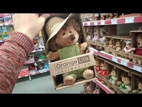 Мягкие игрушки коллекционные/orang Toys Collection, GULLIVER
