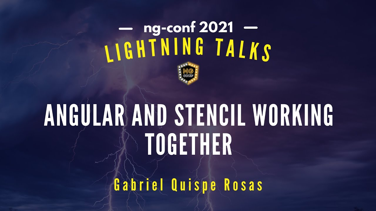 Angular and Stencil Working Together | Gabriel Quispe Rosas