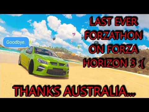 Forza Horizon 3 - FINAL FORZATHON - END OF FH3 FORZATHONS (GET 250 GAMERSCORE) thumbnail