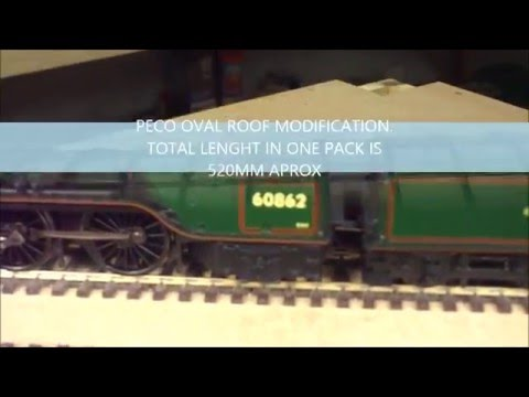 BUILDING A OO GAUGE LAYOUT THE MAIN STATION No4