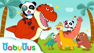 Which Dinosaur is Bigger? | Dinosaur Story | Animals Songs for Kids | BabyBus