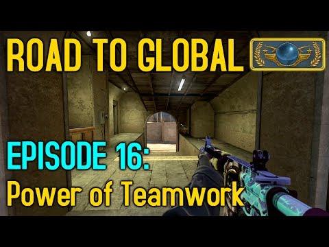 TEAMWORK IS KEY! - CS:GO Road to Global Episode 16