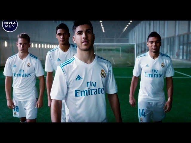 Estado Perca estaño  Nivea Men - Anuncio Real Madrid Casemiro, Asensio, Raphael Varane, Marcos  Llorente Publicidad 2018 - YouTube