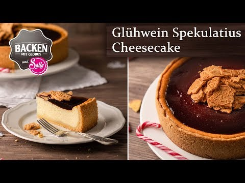 Glhwein-Spekulatius-Cheesecake | Backen mit Globus & Sally #94