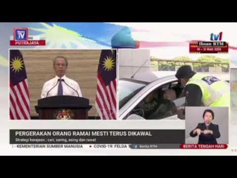 PKP Dilanjutkan Sehingga 14 April