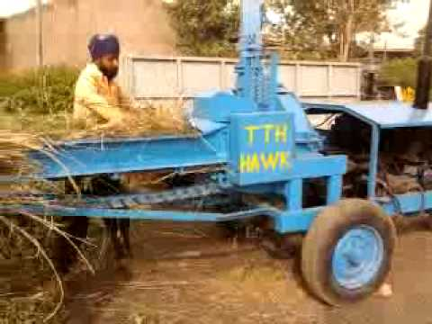 CHAFF CUTTER CUM LOADER. NEW VERSION MODEL T.T.H. HAWK