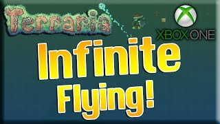 Terraria Xbox One - INFINITE FLYING 1.3! (Red's Wings Only)