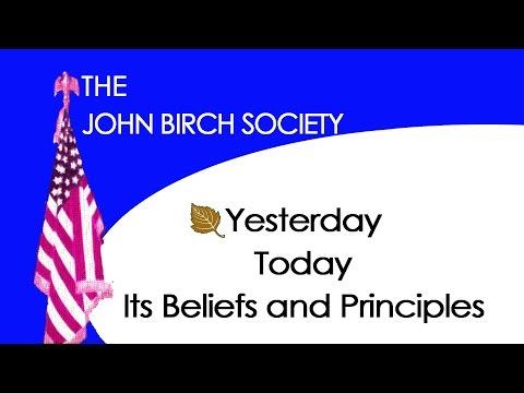 The John Birch Society 1of3 Yesterday (1973)