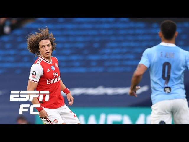 Arsenal 2-0 Manchester City: David Luiz ABSOLUTELY IMMENSE for the Gunners - Steve Nicol | FA Cup - ESPN FC