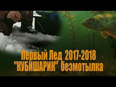 Первый лед 2017-2018, Уводьское Водохранилище. Подводная съемка.