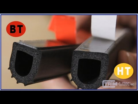 How To Install Rubber Seal Youtube