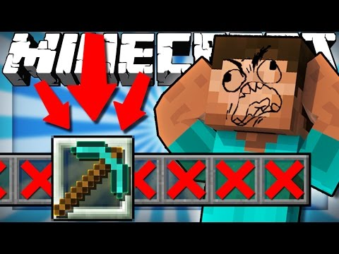 If You Could Only Hold One Item - Minecraft