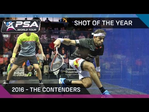 Squash: 2016 Shot of the Year - The Shortlist
