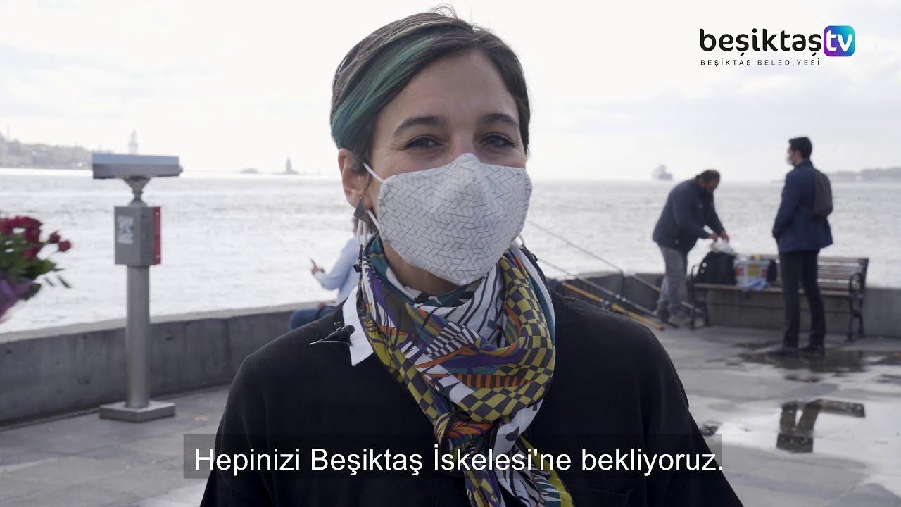 İKSV Tarafından Düzenlenen 5. İstanbul Tasarım Bienali Eserleri Beşiktaş İskelesi'nde!