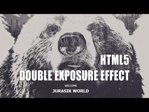 Double Exposure - Double Exposure Effect In HTML 5 & CSS 3   Easy Tutorial