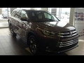 2017 Toyota Highlander Limited V6 AWD - Walk Around & Full Tour