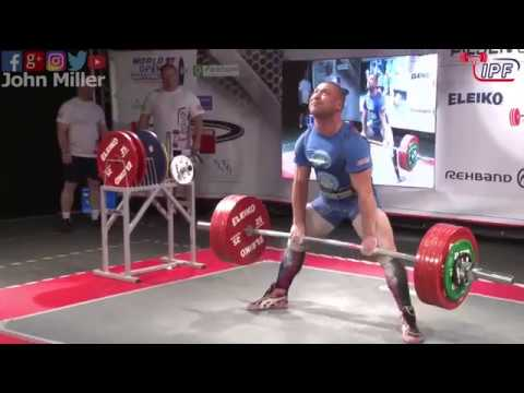 Andriy Naniev - 932.5kg 1st Place 83kg - IPF World Open Powerlifting Championship 2017