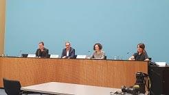 Pressekonferenz des Berliner Senats am 9. April 2020