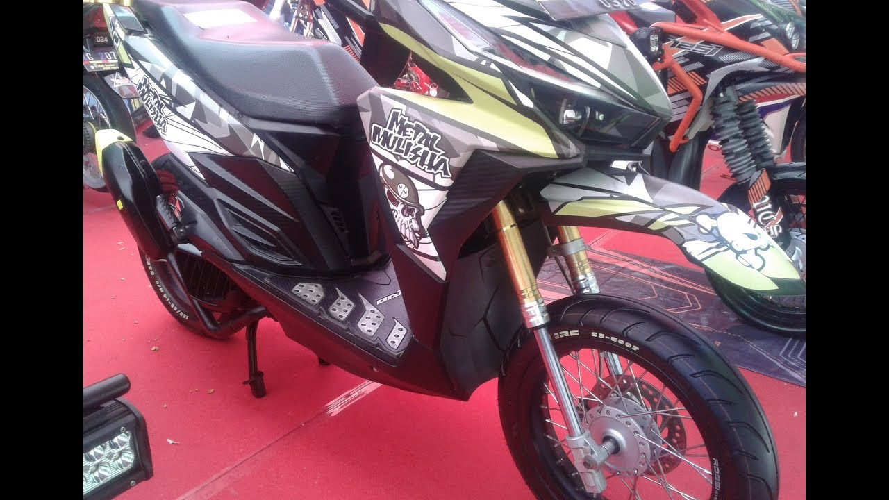 Modifikasi Honda Vario 150 Touring Style Adventure YouTube