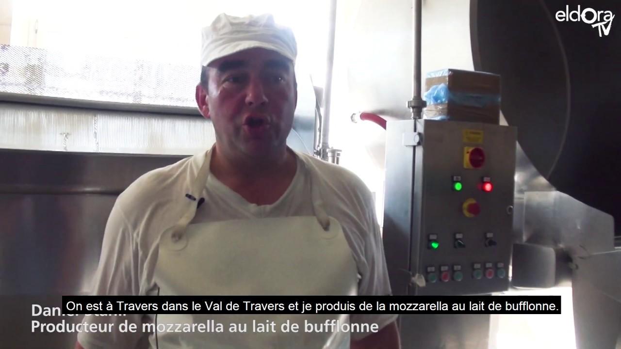Rencontre avec Daniel Stähli, producteur de mozzarella au lait de bufflonne (NE)