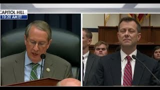 WATCH GOODLATTE WIPES THE SMUG SMILE OFF STRZOCK'S FACE!