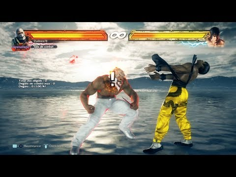 Tekken 7 » Bryan Taunt Jet Upper [New Personnal Record]