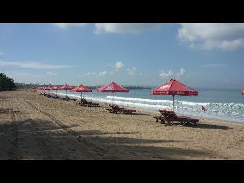 Kuta City Tourist Beaches and Shops, Bali, Indonesia Holidays
