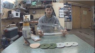 как отполировать стёкло фары под ксенон линзы